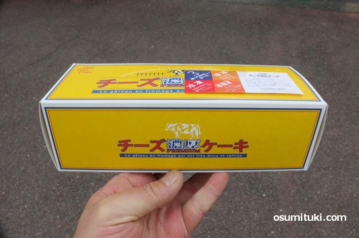 濃厚チーズケーキ(1380円)を購入しました