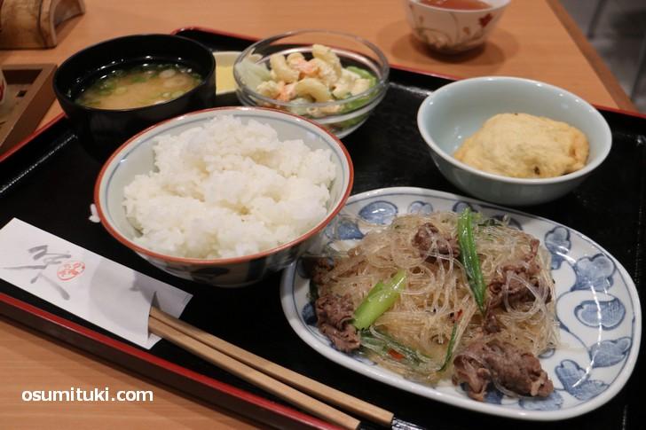 か和か美 お昼定食(780円)