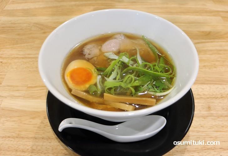 これが京丹後の食材でつくられたラーメン「孫のらーめん」