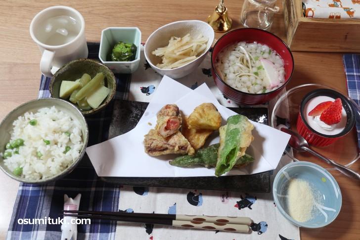 こまめ食堂 日替わりランチ(850円)