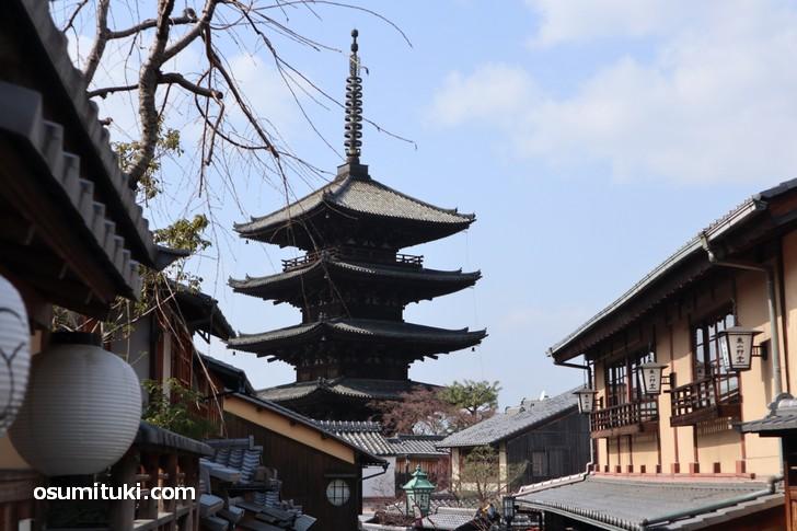 八坂の塔の近く、老舗料理店がつくる和のスイーツを紹介