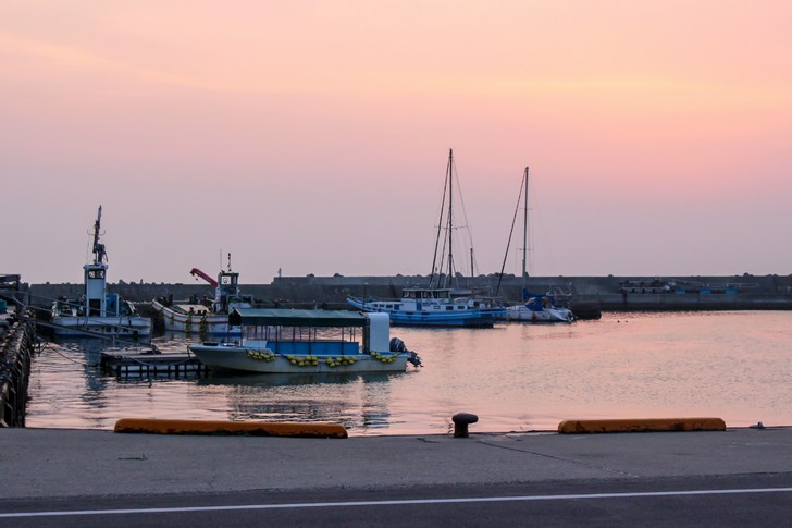 鋸南町の港