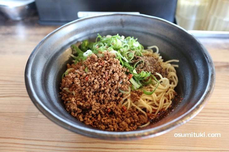 広島名物「広島汁なし担々麺」を京都でも食べられる店が一乗寺にある