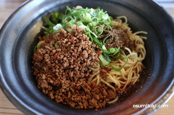 広島汁なし担々麺(一乗寺ブギー)