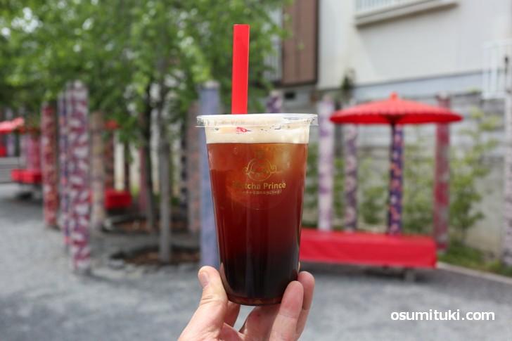 2019年4月20日新店オープン「茶茶屋」で飲んだタピオカティー