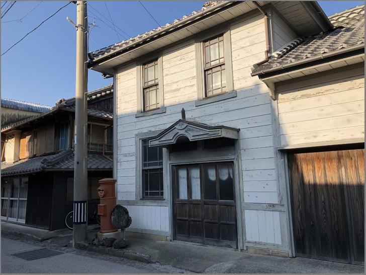 吉良川町の特徴的な町家