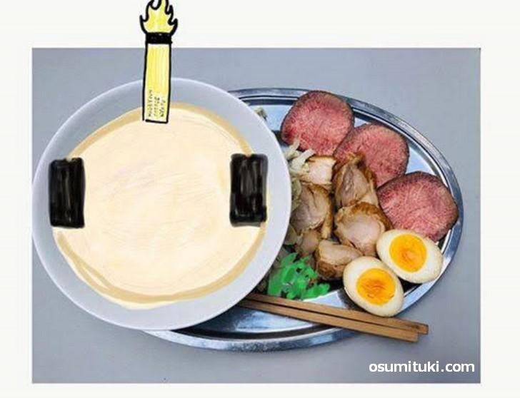 2019年5月18日(土曜日)から京都市伏見区で「秀吉ラーメン」が販売開始