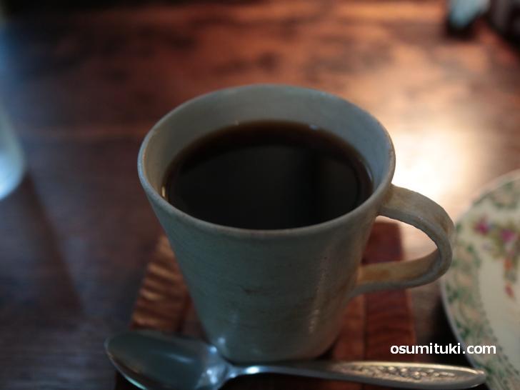 コーヒーは350円