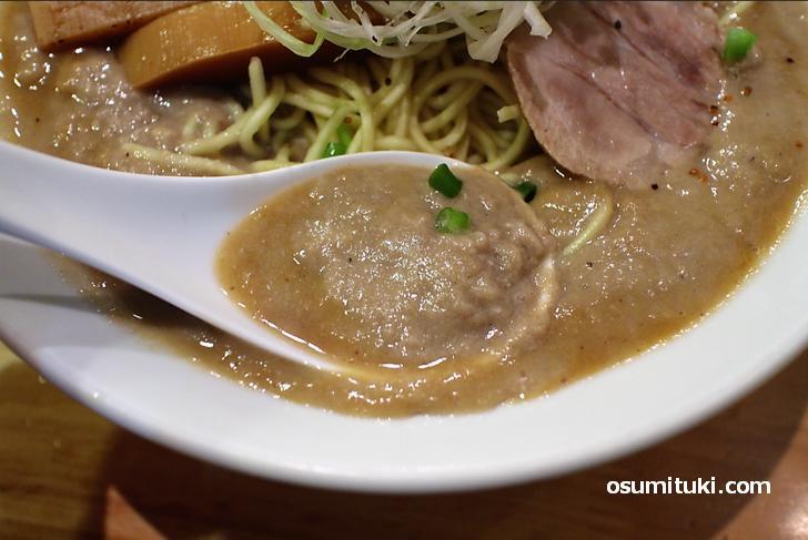 京都の濃厚ドロドロ鶏ラーメンといえば一乗寺「極鶏」
