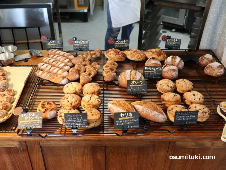 京都の一乗寺に新しいパン屋「UMBER46 (アンバーヨンロク)」が新店オープン