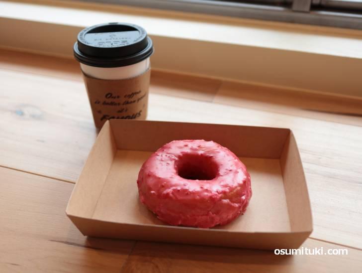 ドーナツとコーヒー(ZARAME BASE 京都店)