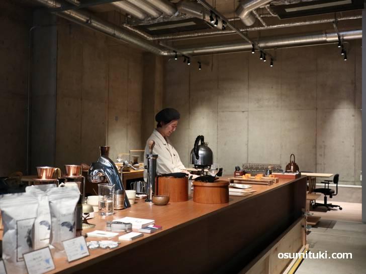 2019年5月31日にオープンしたカフェ「Ushiro」