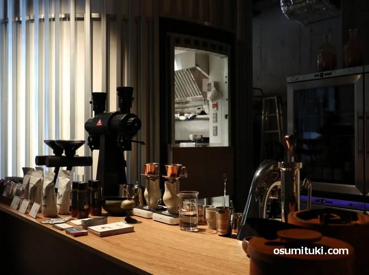 コーヒーへのこだわりを感じるカフェでした