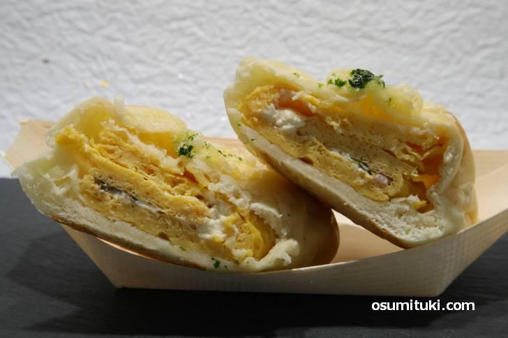 だし巻きを使ったパン「京・出し巻き食堂」