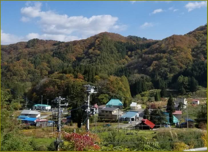青森県西目屋村の風景