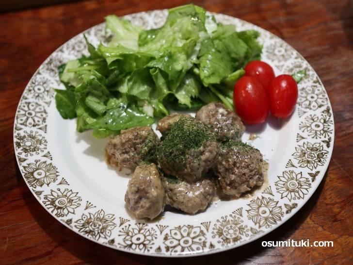フィンランドの家庭料理「ミートボール」