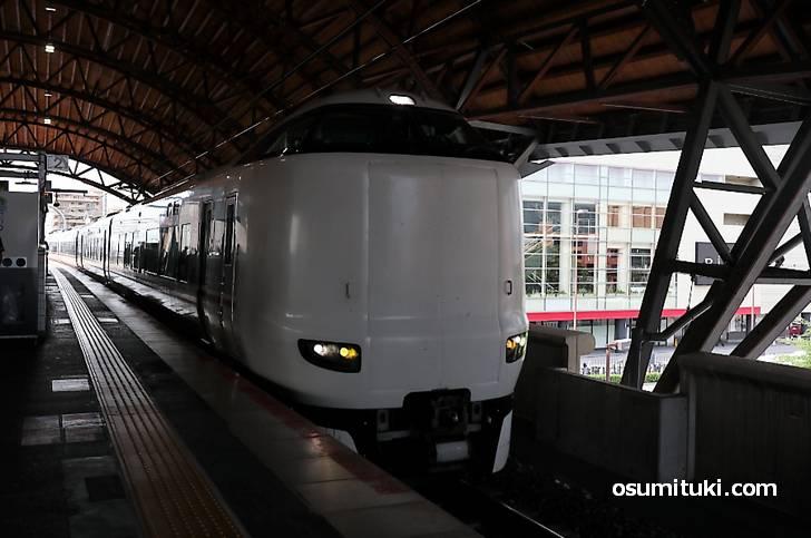 京都駅~宮津駅(または天橋立駅)までは特急を使って3時間弱です