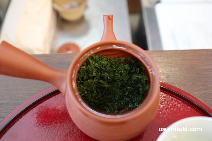 原山(はらやま)のやぶきた、香りが芳醇な日本茶です