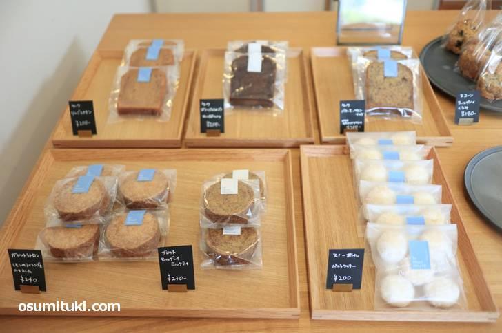 ミュルミュール(le mur mure)の焼き菓子