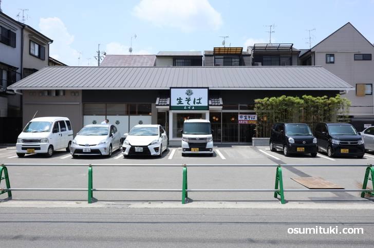生そば あずま 京都樫原店(2019年6月22日撮影)