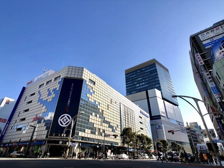 店を「てん」と呼び始めたのは最近のことで上野御徒町にある松坂屋が最初