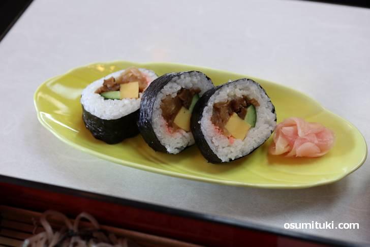 蕎麦、天ぷらときたら、次は「寿司」でしょう!