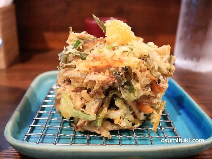 天ぷらが美味しい麺喰金家(KINYA)さん