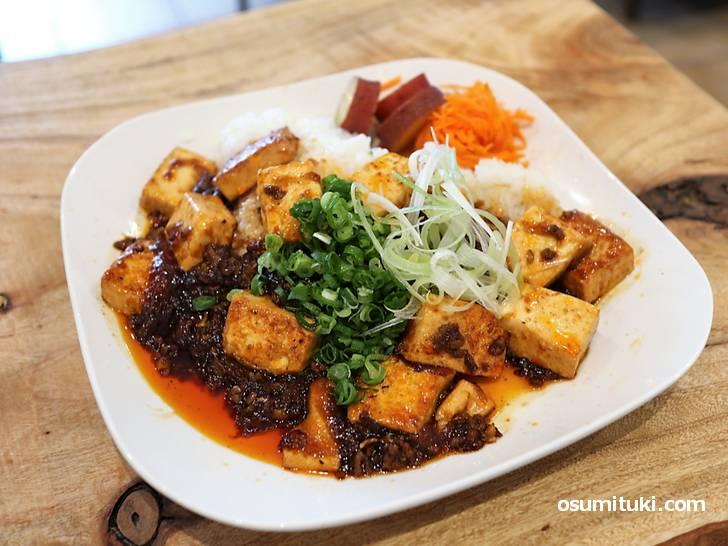 麻婆豆腐ボウル(ランチ)はボリュームありました!