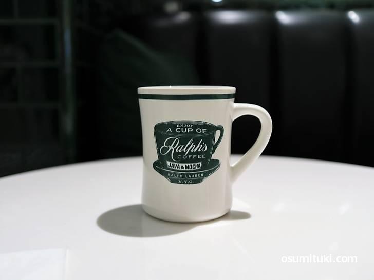 コーヒーはMOCHA JAVA COFFEE BEANS