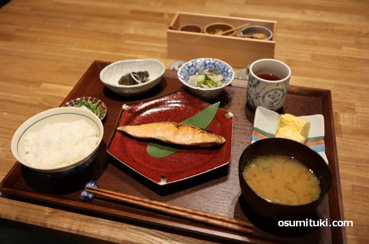 京の朝ごはん(六角kitchen109)