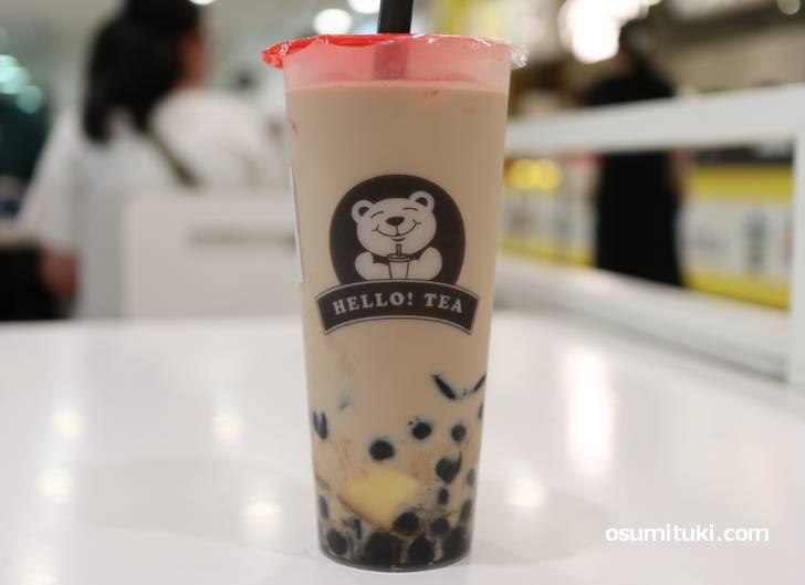 2019年4月19日新店オープン「HELLO!TEA(ハローティー)」で飲んだタピオカティー