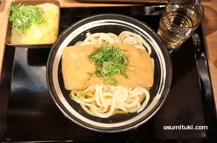 天ぷらひとつだけなら400円+税で食べることができます