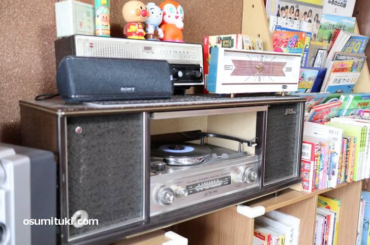 CDはないのでレコードです