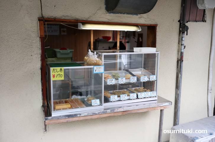 天ぷらほぼ全品100円以下の激安天ぷら屋さん