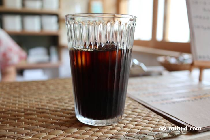 おうちでコーヒーるるる のアイスコーヒー(400円)