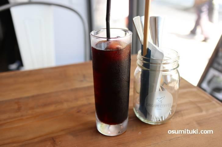 ランチセットのコーヒーは+250円