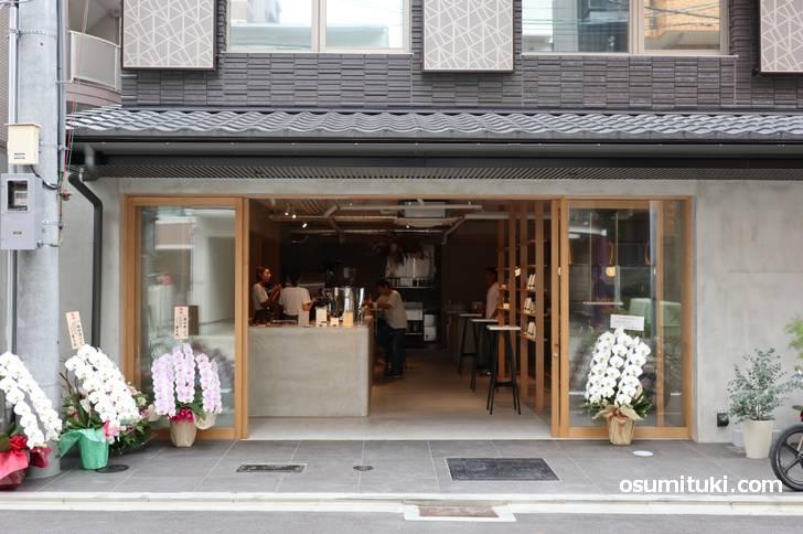 京都の西洞院三条で新店オープンしたカフェ「here kyoto」