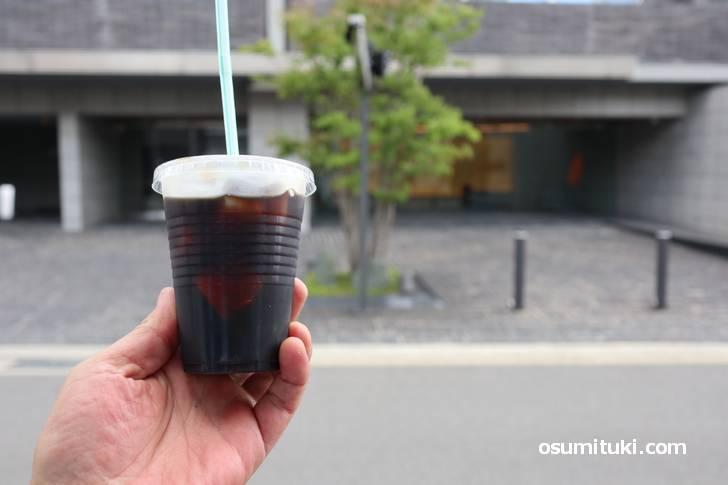 テークアウトでアイスコーヒー