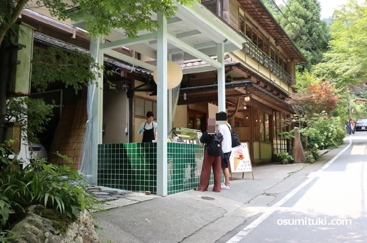 2019年7月21日オープン 貴船Musubi-tei ジェラート屋台