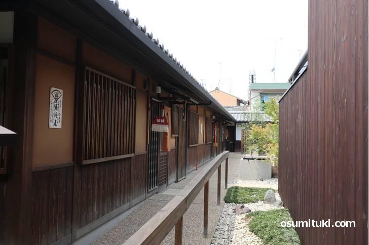 江戸時代の京都をイメージしたストリートです
