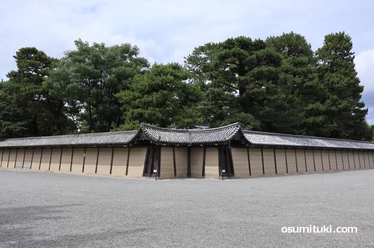 京都御所の北東角は「猿ヶ辻」と呼ばれています