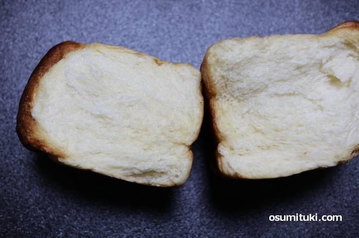 食感はデニッシュパンに近いです