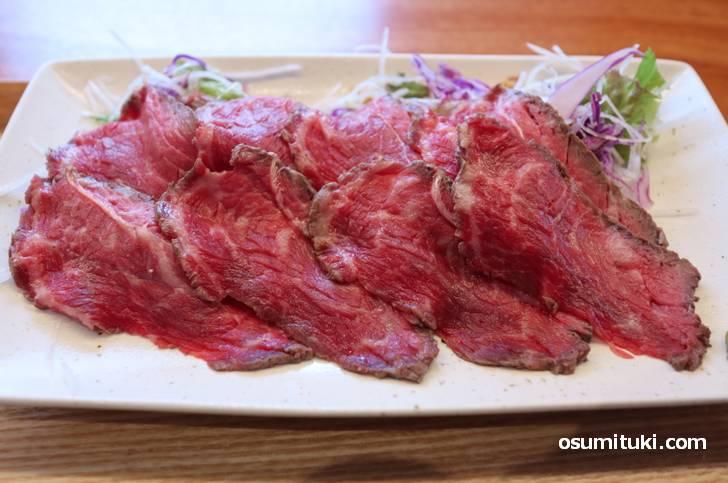 スッキリした味わいの国産牛もも(ランプ・イチボ)