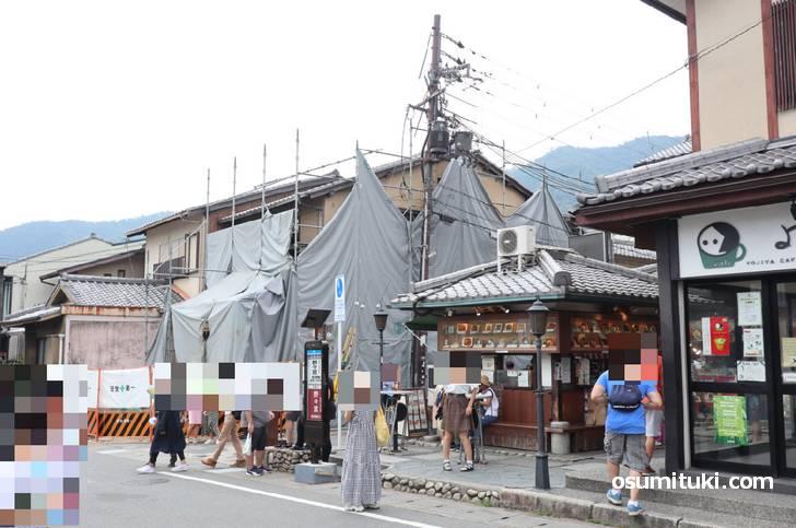 2019年10月オープン スヌーピーショコラ京都 嵐山店(予定地)