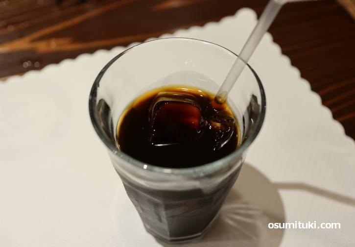 ランチコーヒーは150円