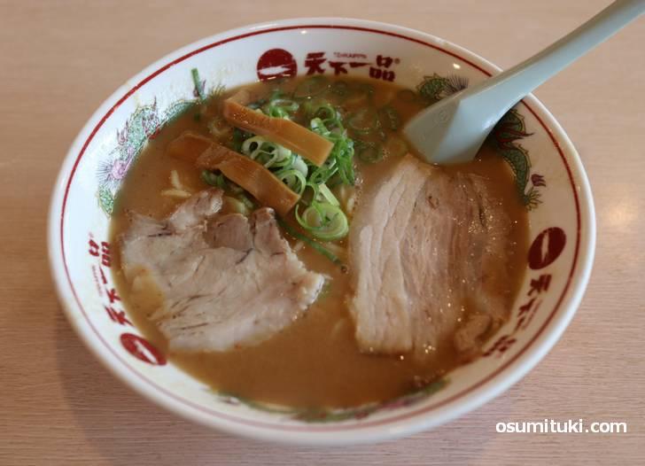 京都市民に美味しいと評判だった五条桂店のラーメン