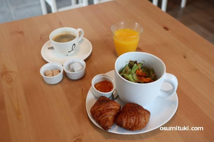 Mimosa Café (ミモザカフェ)のモーニング