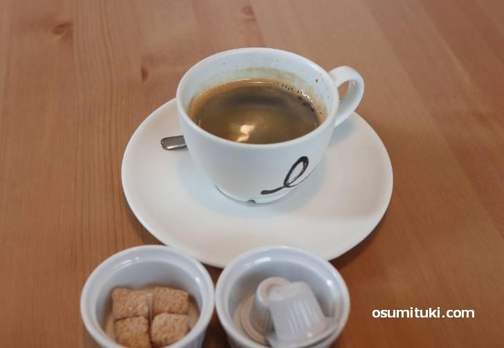 コーヒーは「Largo(ラルゴ)」