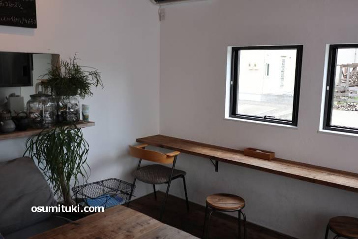閑静な住宅街にあるカフェです(nest.)