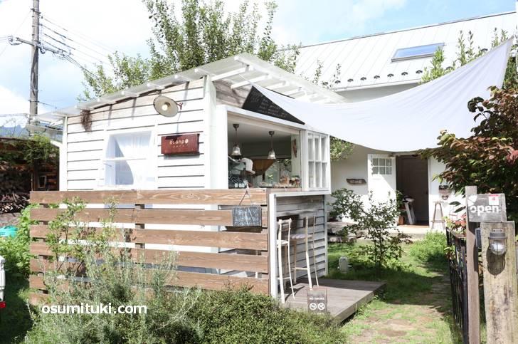 京都の近く滋賀県大津市比叡平にこんな長閑なカフェがありました